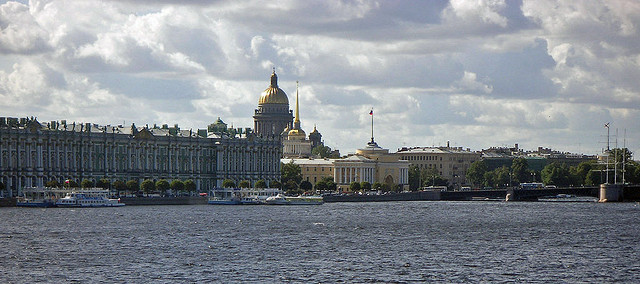petersburg, panorama