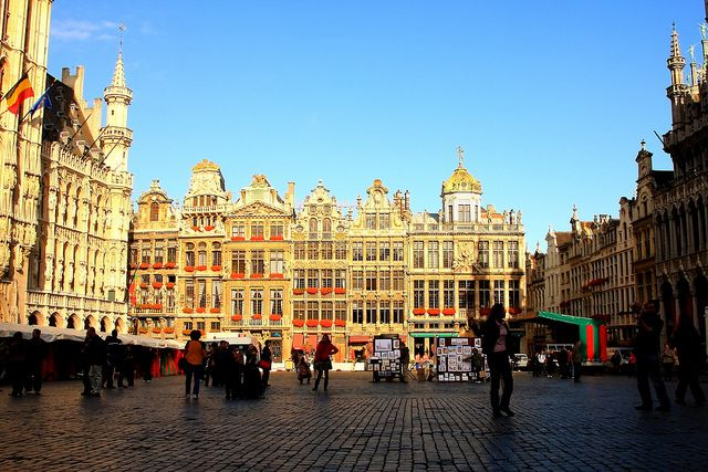Grand Place Bruksela