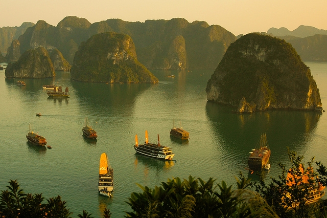 wietnam zatoka Ha Long