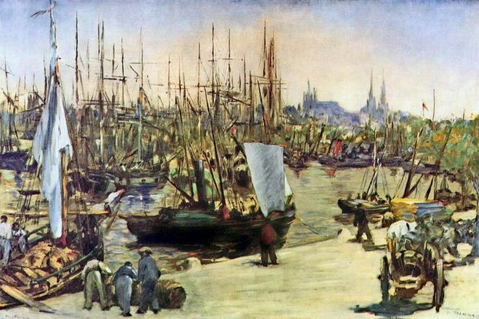 Port w Bordo MAnet