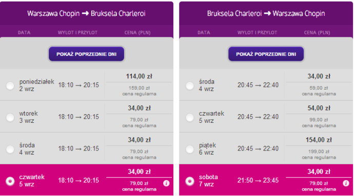 wizzair lot