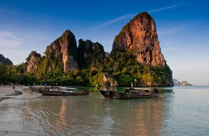 Railay Beach at Sunrise