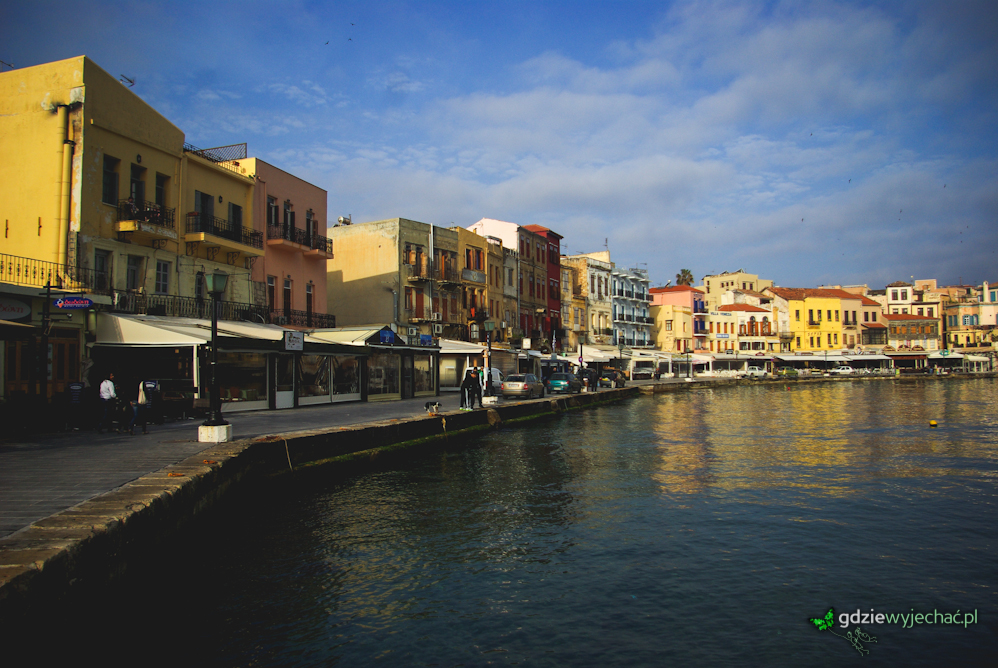 chania kreta port zatoka