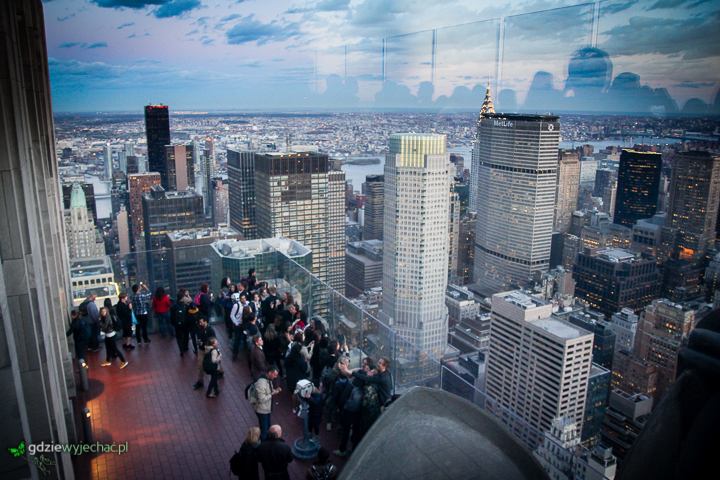 nowy jork top of the rock