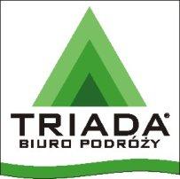 biuro podróży triada logo