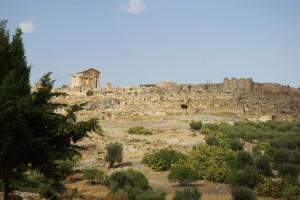 dougga ruiny