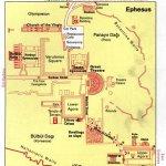 efez mapa ruiny