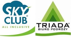 sky club logo triada