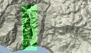wąwóz samaria mapa
