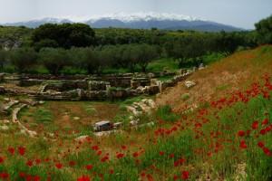 aptera ruiny teatru