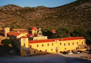 gouverneto klasztor półwysep aktorini