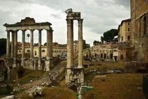 rzym ruiny