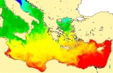 Temperatura najcieplejszych i najchłodniejszych miejsc nad Morzem Śródziemnym. Będziesz naprawdę zaskoczony!