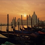 Wenecja zachód słońca