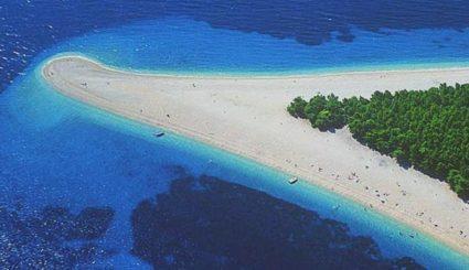 chorwacja plaża złoty rog