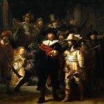 nocna straż rembrandt