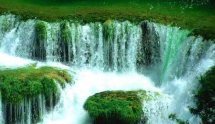 rzeka krka wodospady