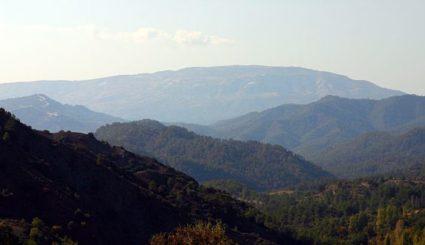 góry troodos cypr