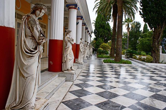 achillion korfu pałac
