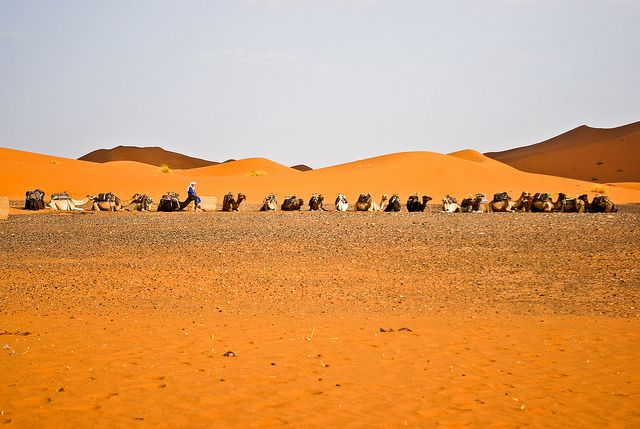 Maroko pustynia merzouga