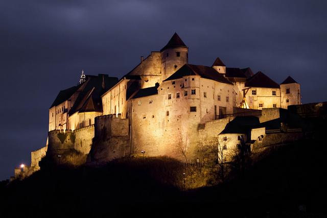 burghausen, zamek
