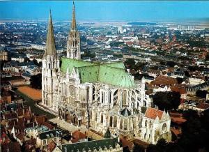 chartres, katedra