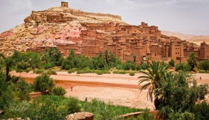 kazba ait benhaddou maroko