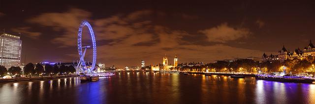 londyn, panorama