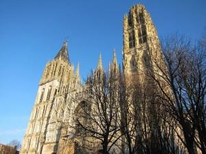 Rouen, katedra