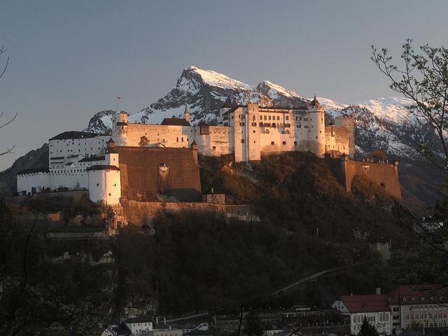 salzburg, zamek