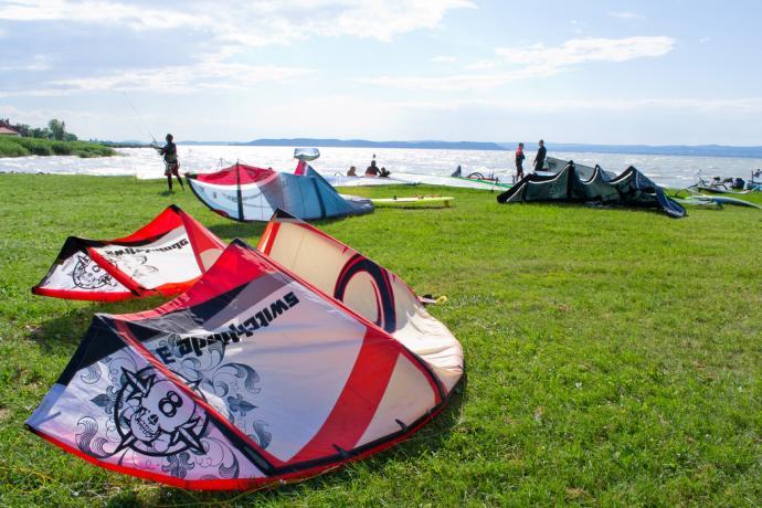 siofok balaton kitesurfing