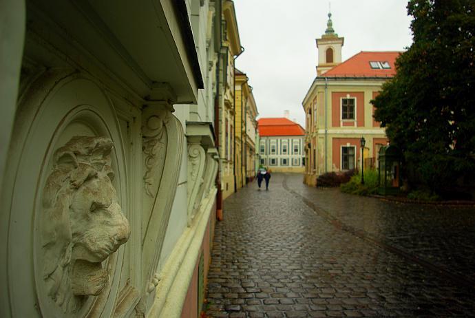 weszprem węgry stare miasto