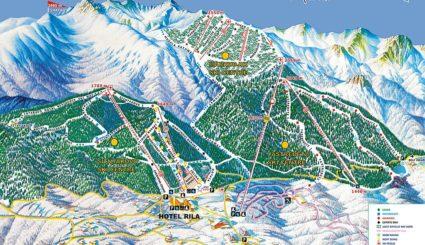 borowiec bułgaria mapa