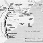 oblężenie konstatynopola mapa