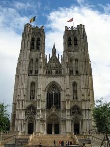 Cathédrale des Saint Michel et Gudule Bruksela