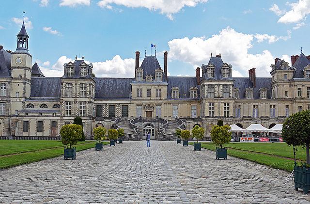 Pałac w Fontainebleau