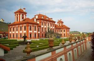 Praga zamek troja