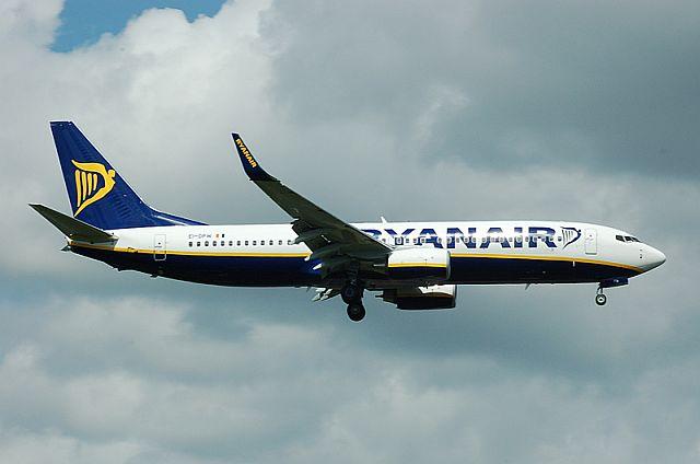 Ryanair samolocik