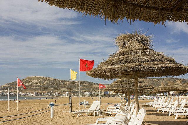 agadir plaża