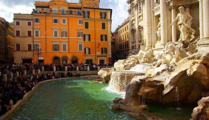 fontanna ditrevi rzym