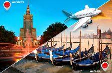 Oferta z Groupona – lot do Wenecji z Warszawy w dwie strony 55 % taniej!