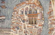 Mapa dnia: Średniowieczny Paryż w 1550 roku. Możesz sobie przybliżać…