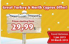 Promocja Pegasus Airlines. Loty wTurcji i na Cypr Północny od 29,90 TL (14 €)