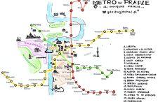 Komunikacja miejska w Pradze – linie metra i najbliższe atrakcje