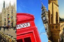 Każdy pretekst jest dobry by podróżować.Tym razem na Andrzejki do Mediolanu, Turku, Londynu i nie tylko…