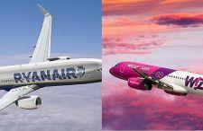 Przegląd lotów Wizzair i Ryanair na jesień oraz zimę