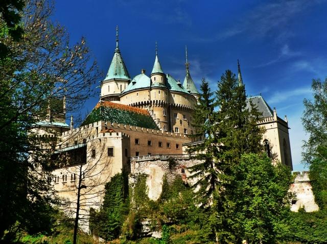Zamek bojnice słowacja