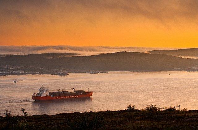 Zatoka Kola arctic express