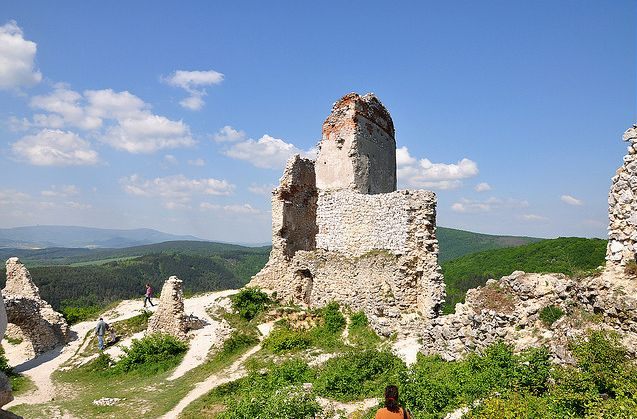 cachtice zamek słowacja