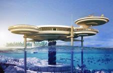 Water Discus Hotel. Supernowoczesny podwodny hotel zaprojektowany w … Polsce